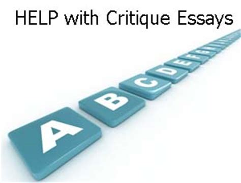 Finding an Article Critique Example - Samples & Examples